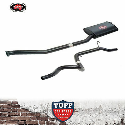 """AU Ford Falcon Ute 6 Cylinder 4lt Redback 2.5"""" Cat Back Sports Exhaust Catback"""