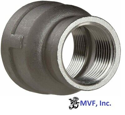 """3/4"""" X 1/2"""" 150# 304 Stainless Steel Bell Reducer 559Wh"""