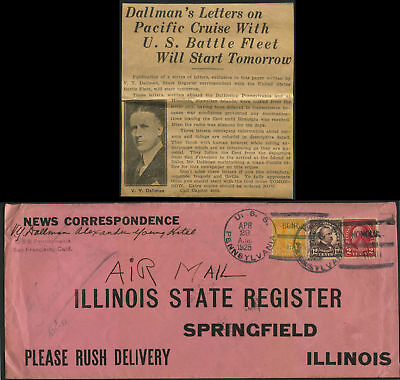 Illinois State Register (Airmail) Bl3707