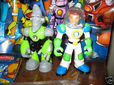 Fisher Price Planet Heroes Ace Earth Lunar Moon Figures Boy Rescue NEW in bag