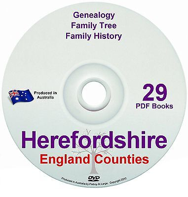 Family History Tree Genealogy Herefordshire