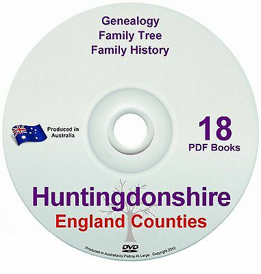 Family History Tree Genealogy Huntingdonshire