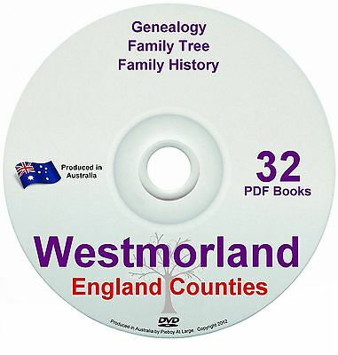 Family History Tree Genealogy Westmorland England