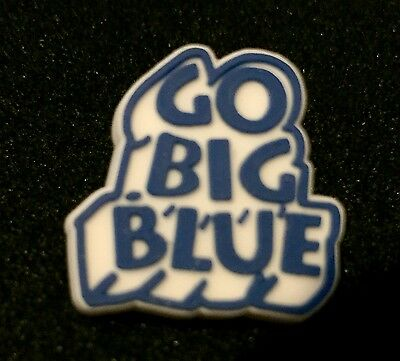 """GO BIG BLUE"" Headphone Clips/NEW (25)"