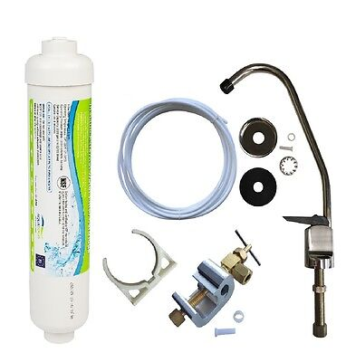 Under Sink Water Filter System Kit Easy to install Fits as TFKIT, NCIL