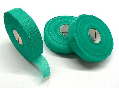"""SAFETY TAPE FINGER ADHESIVE TAPE SKIN PROTECTION GREEN 3 ROLLS 3/4"""" x 30 YARDS"""