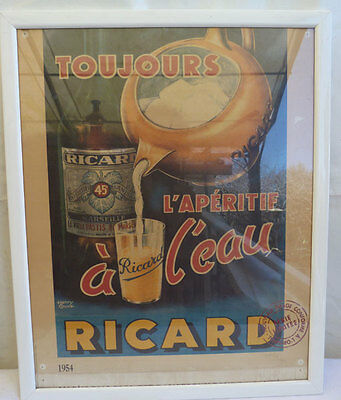 Ricard Chromolithographie Numerotee Serie Limitee 43/54