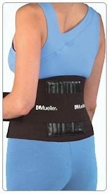 Mueller Adjustable Back Support Brace One Size #4581