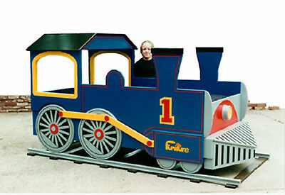 Train Engine Bed Woodworking Plan by Plans4Wood