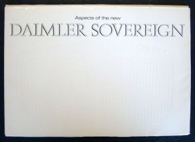 Daimler Soverign Car Sales Folder Circa 1972?