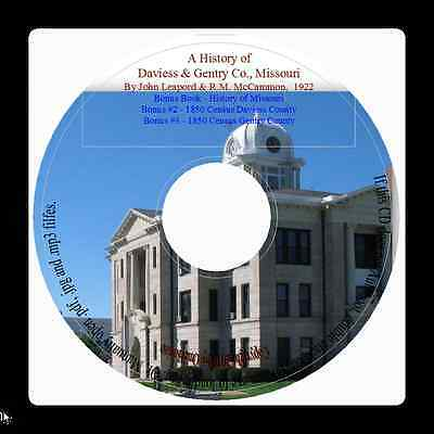 Daviess and Gentry Counties Missouri History