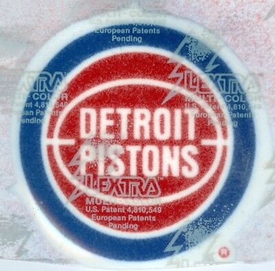 Detroit Pistons 3 inch Lextra Iron-On Logo Patch