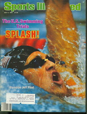 1984 Sports Illustrated: Jeff Float Olympic Swimmer