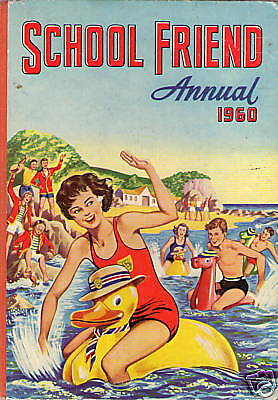 The School Friend Annual 1960 / Good / Unclipped.