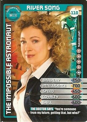 Dr Who Monster Invasion - 110 River Song