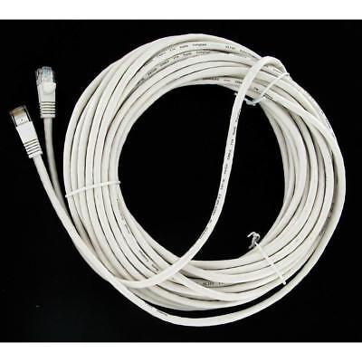 35' Cat 5 Ethernet Patch Cable RJ45 - White