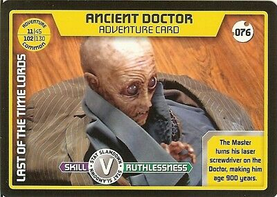 Dr Who Monster Invasion - 076 Ancient Doctor