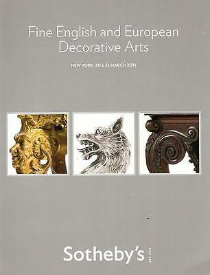 Sotheby's Fine English & European Antiques March 2011