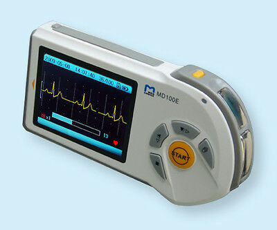 Choice MD100E Handheld Portable Colour ECG EKG Monitor