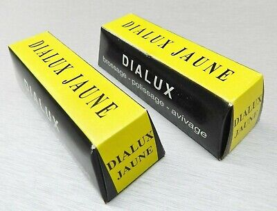 2 Bars Dialux Yellow Polishing Compound Jaune Rouge For Brass Copper Bronze