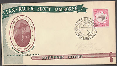 New Zealand Boy Scout Cover 1959 Bl8774