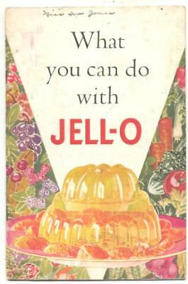 1936 Jell-O Cook Book