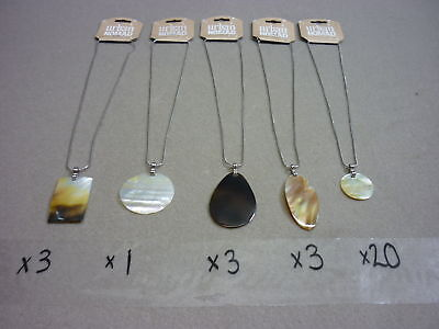 30 Urban Nomad Necklaces Mother Of Pearl New