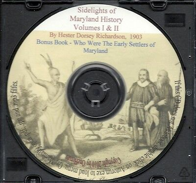 Maryland Sidelights - Early Pioneers