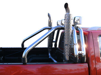 1x Sidepipe Sidepipes Highpipe Highpipes Chevrolet K1500 GMC Silverado Pick up