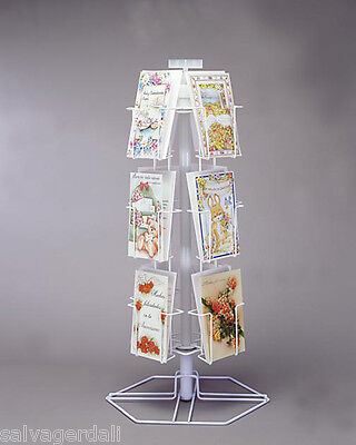 """New 12 Pocket Greeting Card Counter Rack 5 3/8""""W"""