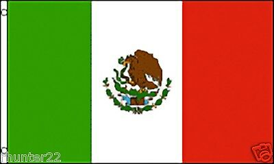 Huge 3' x 5' High Quality Mexican Flag