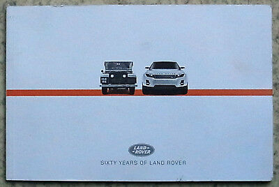 LAND ROVER SIXTY YEARS Press Media Kit Pack CD 2008