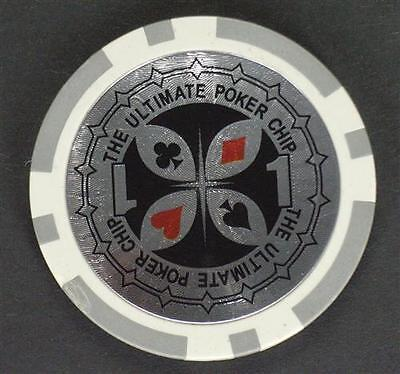 200x THE ULTIMATE POKERCHIP Ersatz Poker Chip WERT 1