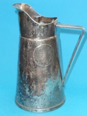 Grand Silver Co.wear Brite Nickle-Silver Pitcher  ~ 8""