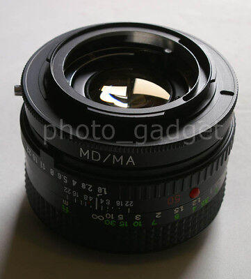 macro minolta md to Sony a33 a55 a280 a580 a390 adapter