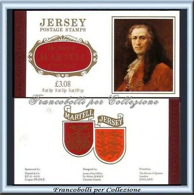 1982 Jersey Libretto n 41 Martell Cognac Booklet £ 3.08