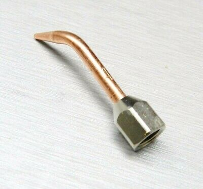 Smith Little Torch Tips Curved Tip # 4 Size Jewelry Soldering Repair Glass Work