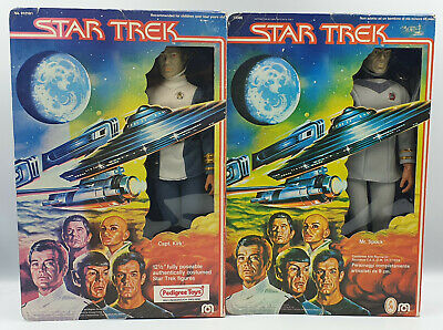 Star Trek : The Motion Picture : Mr. Spock Action Figure Made By Mego (B) (Xp)