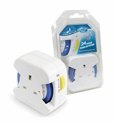 Arcadia Classica 24 Hour Plug In Fish Tank Light Timer • EUR 14,29