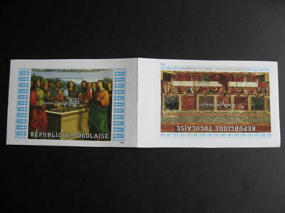 TOGO SC 1296-97 MNH unsevered SS ex printers archive!