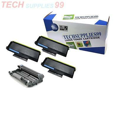 1 Drum DR-520 + 3 Toner for  TN-580 DCP 8065DN Combo