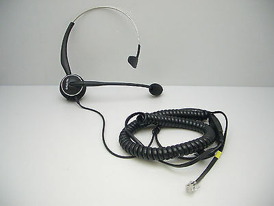 H450-NC MONAURAL NOISE-CANCELING Headset for Cisco 7941 7945 7960 7961 7965  7975