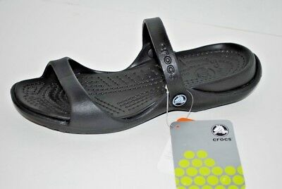 0e0d0bbbf7e6 NEW CROCS CLEO Slide Sandals Womens 7 Two Band Sandals Oyster Free ...