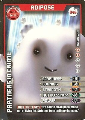 Dr Who Monster Invasion Test Set 046 Adipose