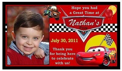 12 Disney Cars Birthday Party Favors Magnets