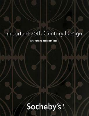 Sotheby's Imp. 20th C. Deco Design Furniture Art 2008