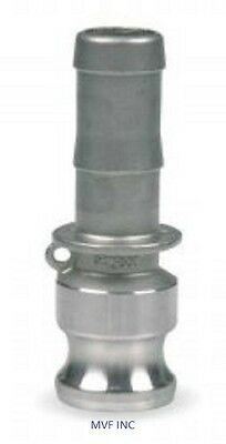 """1.5"""" Type E Camlock Male Adapter x Hose Barb 304 Stainless Fitting <E150SS304"""