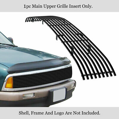 For 94-97 Chevy S10/Blazer Phantom Black Billet Grille