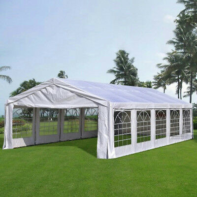 Quictent Deluxe 6M x 10M Large Party Tent Wedding Marquee Gazebo Canopy Carport