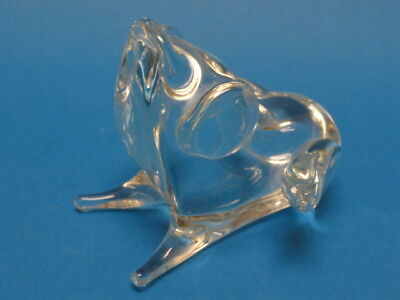 Signed Licio Zanetti Murano Glass > Signed Art Glass: Frog ~ 5""